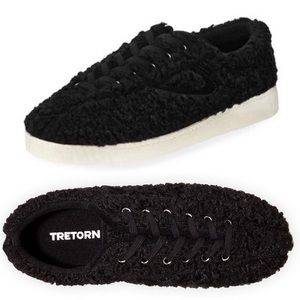 TRETORN Nylite Plus Sneakers Faux Shearling Black